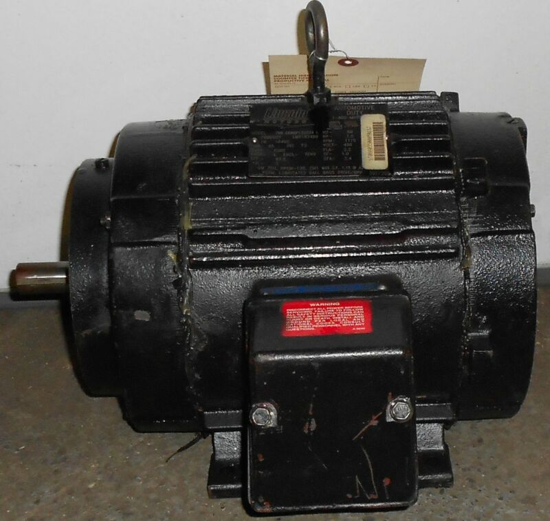 Lincoln Remanufactured Electric Motor 1.5 HP  1175 RPM 11502WT