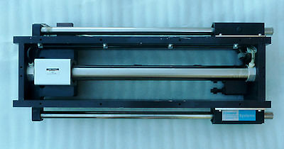 Smc Ncy2b32h-1550 Pneumatic Rodless Cylinder Thomson Bearing Linear Actuator