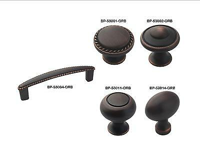 (Amerock Oil Rubbed Bronze Cabinet Hardware Knobs & Rope Pulls)