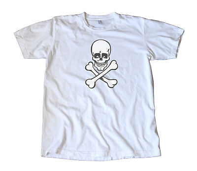 Vintage Impko Skull & Crossbones Decal T-Shirt - Pirate