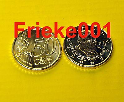 Vaticaan - Vatican - 10x 50 cent 2011 unc.
