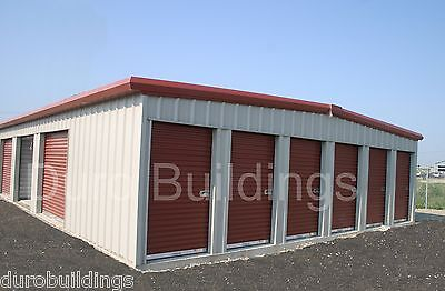 Durosteel 45x180x8.5 Metal Mini Self Storage Prefab Building Structures Direct