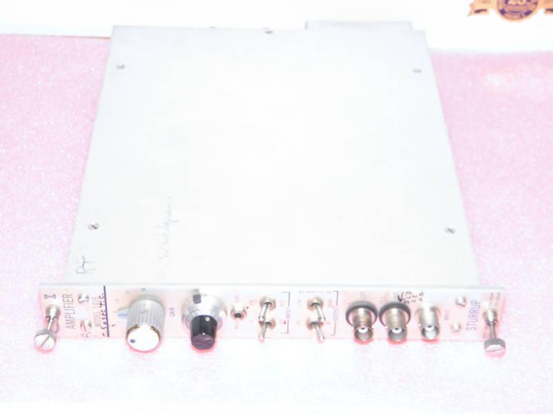 Canberra NIM CI Spectroscopy Amplifier Sturrup # 1416