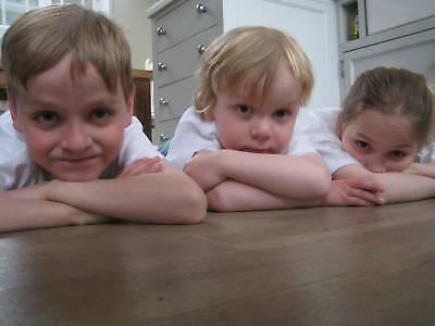 50 Childrens Plain WHITE T-Shirts/Tee Shirts Wholesale
