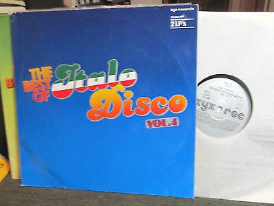 2 lp Best Of Italo-Disco Vol 4 IV '85 koto amanda lear kirlian camera Katy