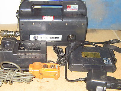 Huskie Rec-p500 Portable Battery Hydraulic-pump-w-pendant Hbs W Charger