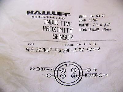 Balluff Bes-z02kr2-psc20f-p200-s04-v Inductive Sensor New