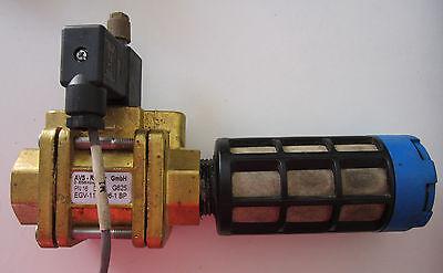 Avs Romer Solenoid Valve Egv-111-b96-1bp With Avs E22-024 And Festo 2312