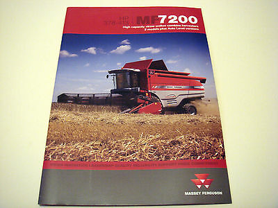 Massey Ferguson . MF 7200 . 2009 Sales Brochure