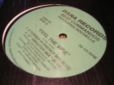 Beat Commandos Ft Rochelle Feel The Vibe 12  Dana Records Dan 61 House Shrink