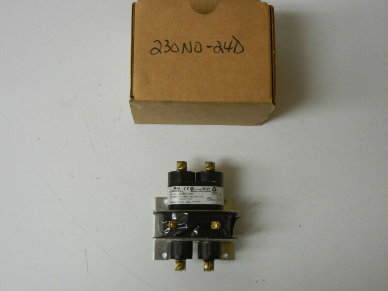 MDI 230NO-24D NEW MERCURY CONTACTOR 230NO24D