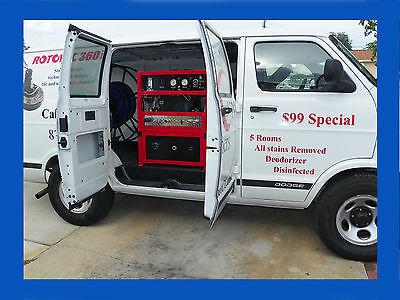 Truck Mount Carpet Tile Cleaning Machine Model 47 Xl Dual Wand