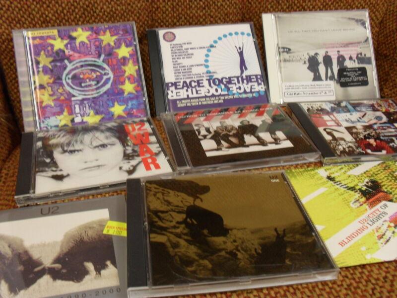 U2 collection CD vinyl US UK 4 Play 45 Transmit Zoo Radio BONO Rose Bowl Melon