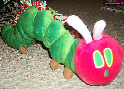 NWT KOHLS CARES THE VERY HUNGRY CATEPILLAR STUFFED TOY PLUSH DOLL ERIC - The Very Hungry Catepillar