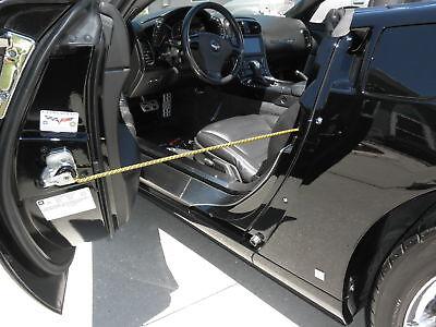 - Corvette Show Car Door Prop Rods Bars Carbon Fiber Hydrocarbon Colors