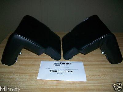 International Td7h Td8h Dozer Arm Rests Rest Seat Pair Dresser Cushion 1306182h1