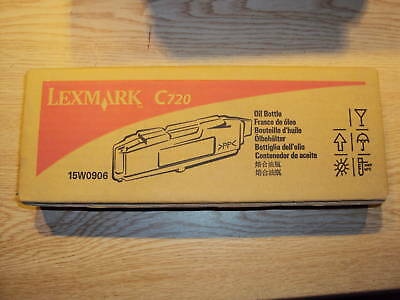 - NEW LEXMARK 15W0906 OIL CHARGE/BOTTLE FOR C720 PRINTER