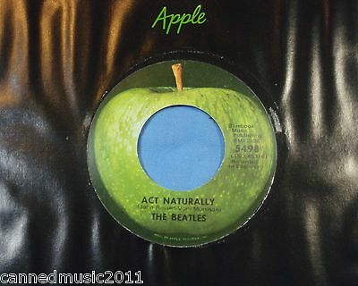 Beatles: Ayer / Act Naturally [ On Apple, Nuevo &unplayed] segunda mano  Embacar hacia Spain