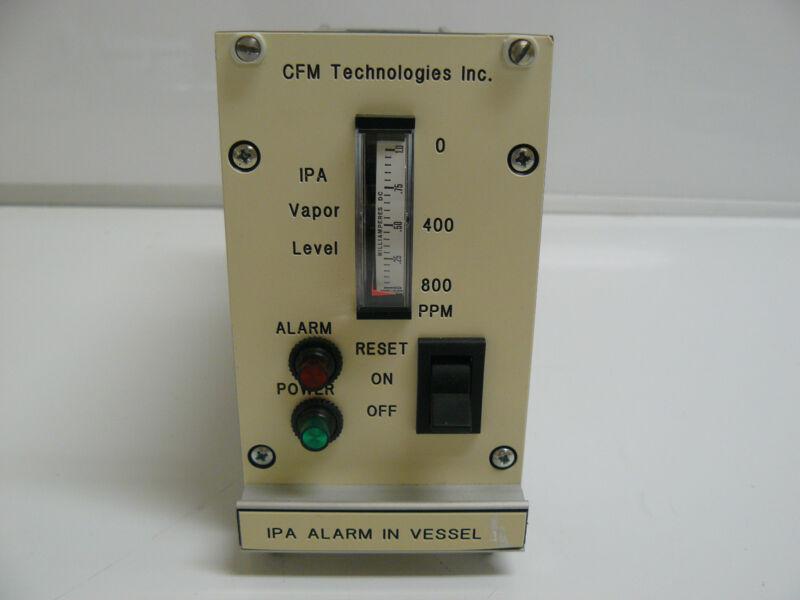 CFM TECHNOLOGIES IPA ALARM IN VESSEL