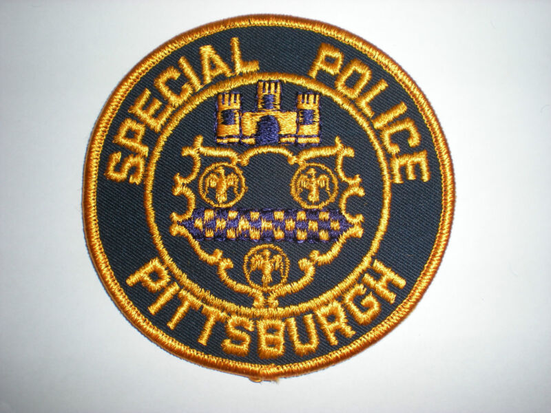 PITTSBURGH SPECIAL POLICE PATCH