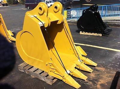 New 42 Excavator Bucket For A Caterpillar 330 With Coupler Pins