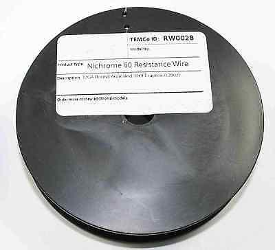 Nichrome 60 Resistance Wire 100ft Spool - 32gauge  Rw0028