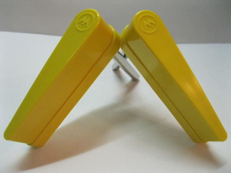 NEW Set of 2 Williams Pinball Machine Yellow Flipper Bat w/ Williams Logo
