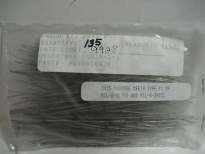 Lot Of 135 New Resistors Part No. Rn60d6042f Yk-24
