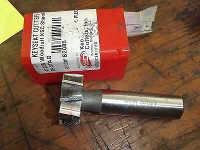Keo Hss Woodruff Keyseat Cutter 1.0 X 38