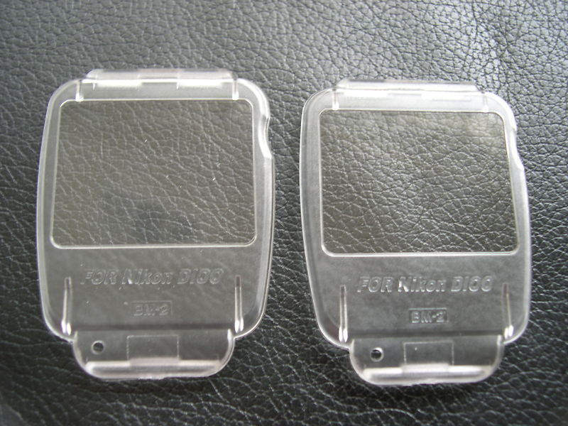 New 2 x LCD Covers for Nikon D100 BM-2 Ship From USA  BM2