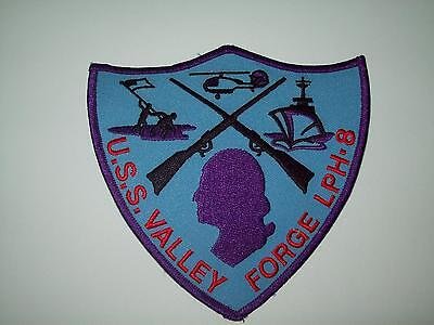 USS VALLEY FORGE LPH-8 Amphibious Assault Helicopter Ship MILITARY PATCH
