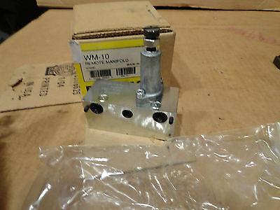 Enerpac Wm-10 Remote Manifold. Hydraulic Pump Valve Motor Part
