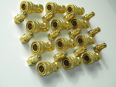 Carpet Cleaning 14 Brass Truckmount Quick Disconnect For Wands Hoses