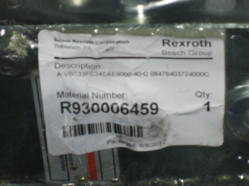Rexroth Check and Metering Valve Flangeable A-VBC-33-FC