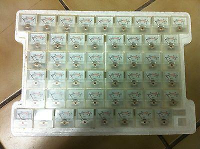 Qty 50 Dc 300v Voltage Panel Meter Indicator Voltmeter Gauge 0-300v Analog