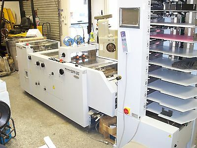 Horizon Vac Collator Spf 20 Bookletmaker Trimmer Duplo Bourg Stitcher