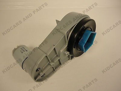 Peg Perego Polaris  Outlaw 4 Wheeler Atv 12 Volt Gearbox And Motor Assembly