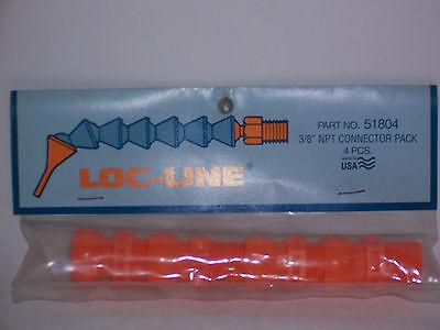 Loc-line 12 Hose X 38 Npt Connectors 51804 New
