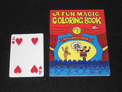 Pocket Size FAMOUS Coloring Book Magic Trick - Close Up, Pocket, Walk - Magic Coloring Book