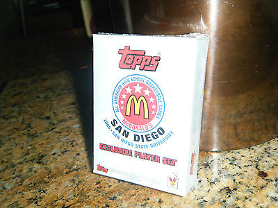 2006 TOPPS McDONALDS SEALED SET KEVIN DURANT FIRST EVER CARD MADE HIGH SCHOOL