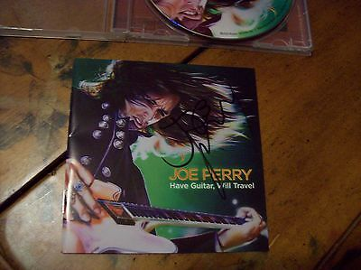 Joe Perry Autographed CD - Have Guitar Will Travel CD - Hand Signed / Aerosmith