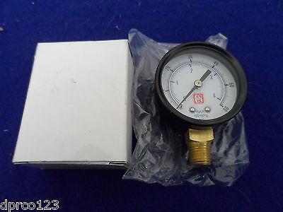 Pool Spa Filter Pressure Gauge 14 Mip 0-60 Psi Nib