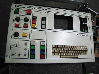Boston Digital Bostomatic Bosto Matic Cnc Machine Keyboard Operator 63st13-7-j