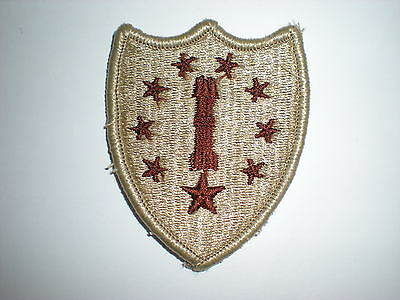 US ARMY NEW HAMPSHIRE NATIONAL GUARD HQ PATCH - DESERT ()