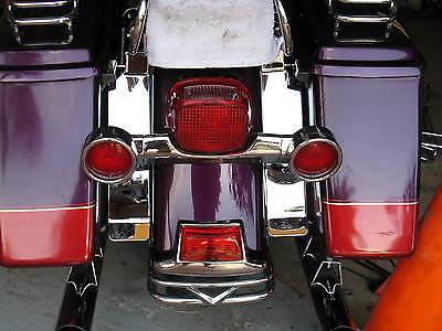 Chrome Fender Saddlebag Filler Panels - 1993-2008 Harley Davidson Touring (Chrome Saddlebag Filler Panels)