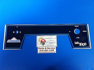 Carpigiani Parts Coldelite Batch Freezer Gelato Ice Cream Lb 100 B Front Decal