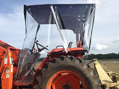Kubota 4-sided Farm Tractor Cab Canopy Top  For Most 20hp And Up Tractors