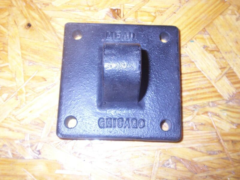 """new MEAD CHICAGO CYLINDER BRACKET 3/4"""" PIN OPENING"""