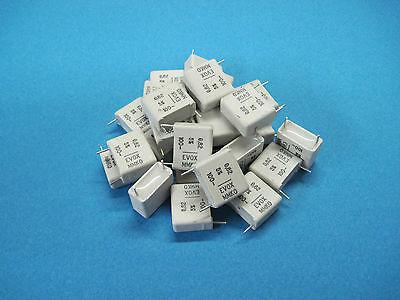25 Evox Mmk0 Mmk Radial Metallized Polyester Film Capacitors 0.82uf 5 100v