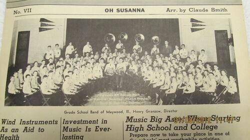1939 Tonette News Maywood Illinois Band on Cover
